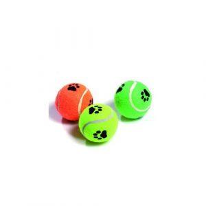 Aportovací hračka pro psy Karlie tenisový pískací míček