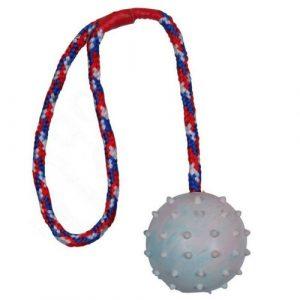 Aportovací hračka pro psy Trixie míč na šňůrce
