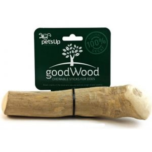 Dentální hračka pro psy kávovníkové dřevo Pet' Up