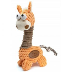 Plyšová hračka pro psy Žirafa Vsepropejska