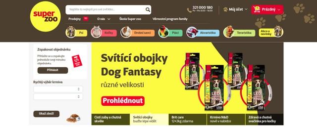 Superzoo.cz e-shop