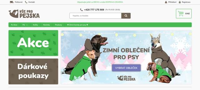 Vsepropejska.cz e-shop