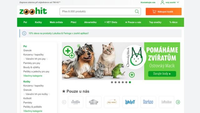 Zoohit.cz e-shop