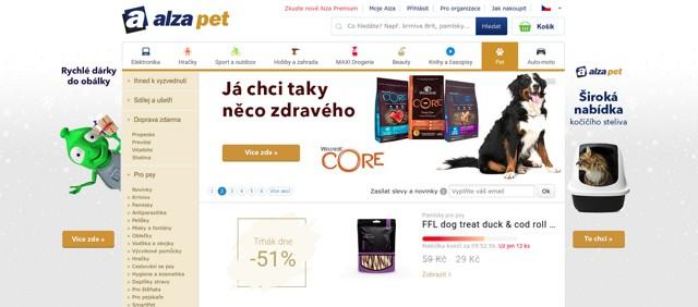 Alza.cz AlzaPet e-shop