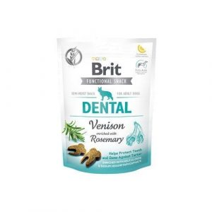 Pamlsky pro psy Brit Functional Snack Dental Venison/Rosemary