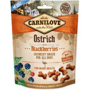 Pamlsky pro psy Carnilove Ostrich & Blackberries