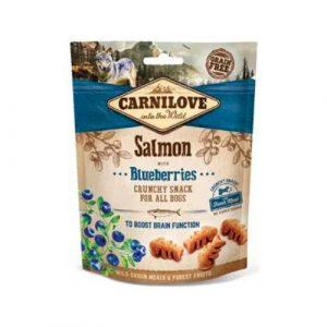 Pamlsky pro psy Carnilove Salmon & Blueberries