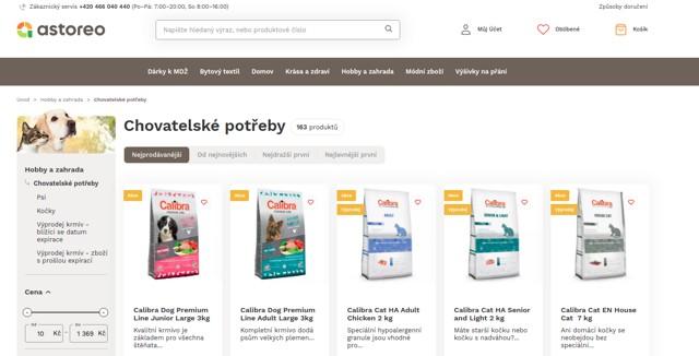 Astoreo.cz e-shop