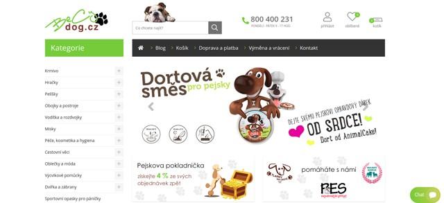 BeCyDog.cz e-shop