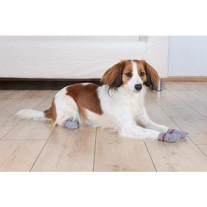 Ponožky pro psa Protiskluzové ponožky šedé