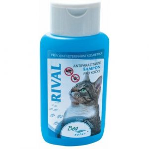 Antiparazitní šampon BEA RIVAL pro kočky
