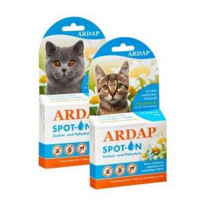 ARDAP Spot-On antiparazitikum pro kočky