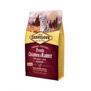 Carnilove Cat Fresh Chicken & Rabbit