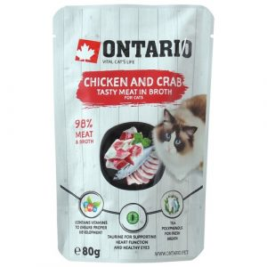 Ontario Chicken and Crab in Broth