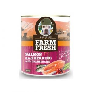 Farm Fresh Salmon & Herring with Cranberries