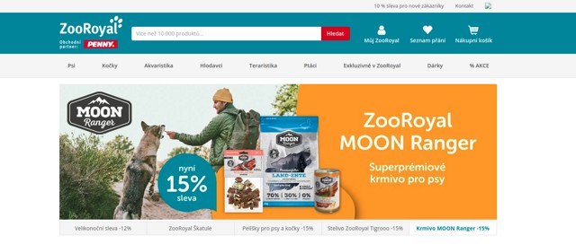 ZooRoyal.cz e-shop