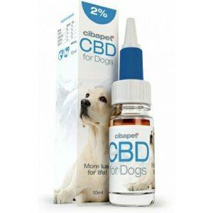 Cibapet 2% CBD olej pro psy