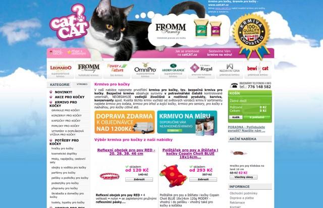 catCAT.cz e-shop