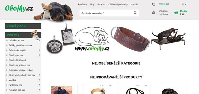 Obojky.cz e-shop