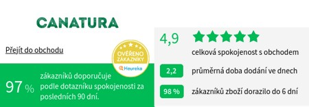 Canatura.com Heureka