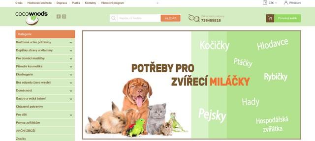 Cocowoods.cz e-shop