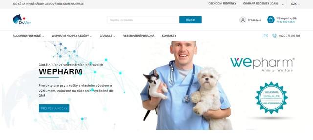 DrVet.cz e-shop