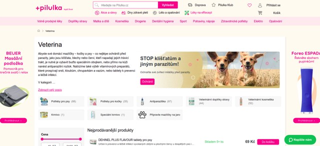 Pilulka.cz e-shop